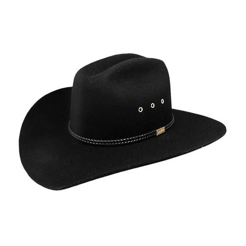 Resistol Children s Felt Hats - Hill Country Jr - Black - Billy s ... 5a023a1a798
