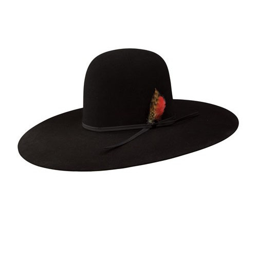 9c757b8880cea Resistol Felt Hats - Chute 5 - Black - Billy s Western Wear