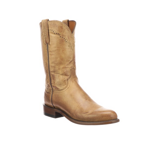 3ad14fd8711 Lucchese Men's Boots - Shane - Chocolate Madras Goat - Billy's ...