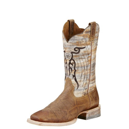 102d7676122 Ariat Men's Boots - Mesteno - Adobe Clay / Neon Lime - Billy's ...