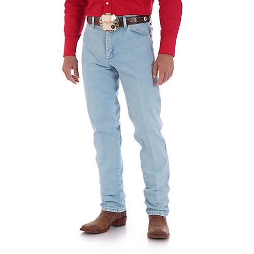 6d6334c1962 Wrangler Mens Jeans - Cowboy Cut Original Fit - Bleach Wash ...