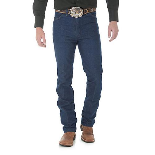 aabd9d6b8a0 Wrangler Mens Jeans - Cowboy Cut - Dark Wash - Billy's Western Wear