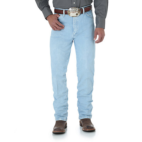 65bee796 Wrangler Mens Jeans - 0936GBH - Wrangler Cowboy Cut Slim Fit Jean - Bleach  Wash