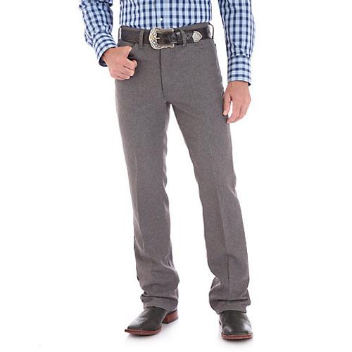 33a7bba2059 Wrangler Mens Dress Jeans - Heather Grey - Billy's Western Wear