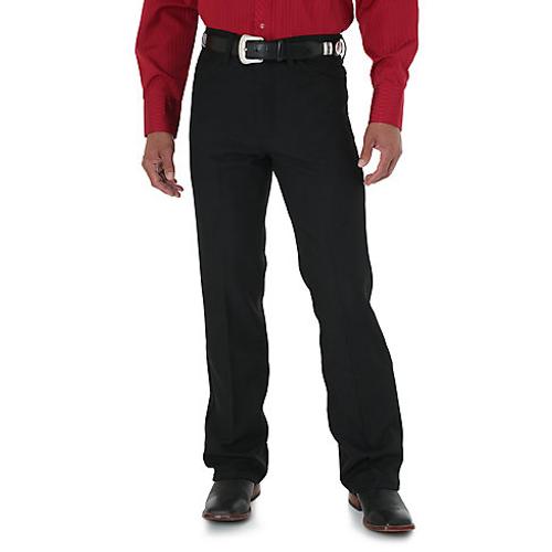 4d82509d18d Wrangler Mens Dress Jeans - Black - Billy's Western Wear