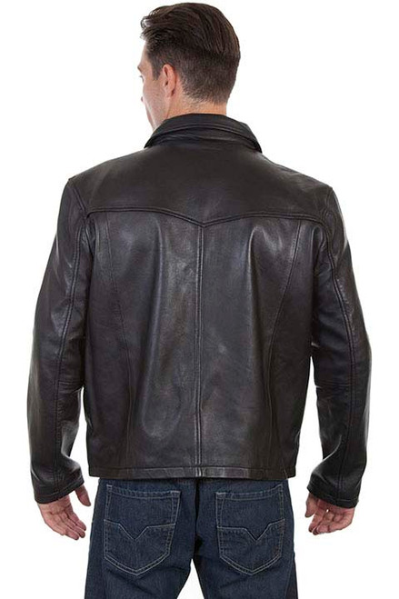 dfd4d6800 Scully Mens Jackets - Leather Concealed Carry / Soft Touch Lamb - Black