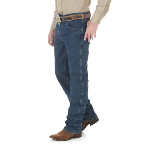 e5021d0c ... Wrangler Mens Jeans - Premium Performance Advanced Comfort (SF) - Mid  Stone ...