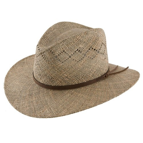 16b84f13a2fa8 Stetson Mens Hats - Stetson Dove Mountain – Straw Fedora Hat