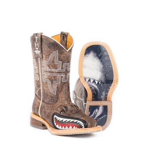 13942659d249d Tin Haul Kids Boots - Sharky w  Man Eater Sole - Billy s Western Wear