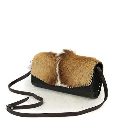 43edbbc32e3b Juan Antonio Women s Custom Handbags - 024H - Clutch - Antelope   Brown