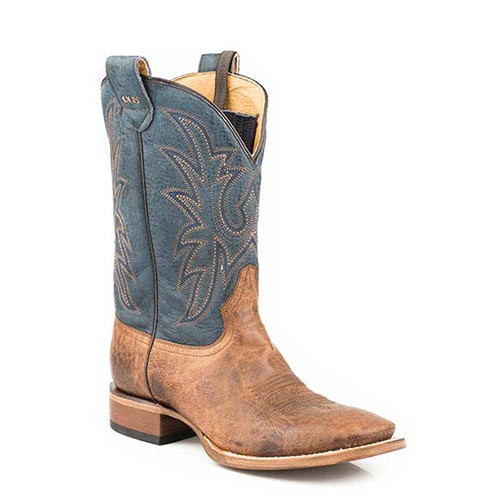 710c0be28eb Roper Men's Boots - Sidewinder Concealed Carry System Cowboy Boots - Square  Toe