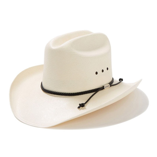 b12e062d5ec97 Stetson Mens Hats - Carson Natural - 10X Straw Cowboy Hat