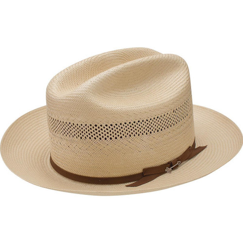 a75f12b8787 Stetson Mens Hats - Open Road - 10X Vented Straw Cowboy Hat ...
