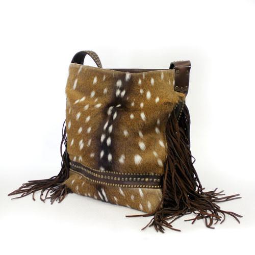 058bcde1ec75 Juan Antonio Women s Custom Handbags - 2016H - Hair On Hide Axis Bag ...