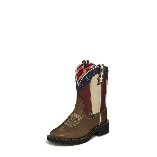 56a5303c8f3a7 Justin Women s Boots - Chellie Stars   Stripes - Shorty - L9521