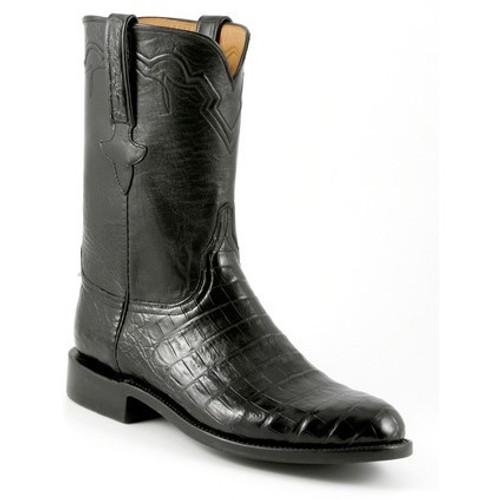 6f422ea4ee8 Justin Women's Roper Styles - Cora Black Kidskin - Billy's Western Wear
