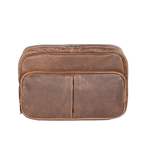 d543ddb2e1 Scully Men s Accessory - Travel Leather Shave Kit - Walnut - Billy s ...