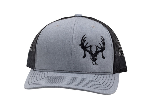 san francisco e6561 a4555 Oil Field Hats - Texas Trophy Hunter Association - Heather Gray   Black    Black Skull