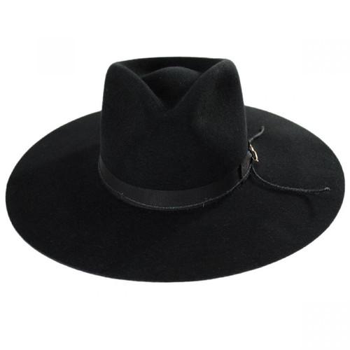STETSON JW MARSHALL WOOL FLAT BRIM WESTERN HAT