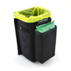 Refuse Containment System- Main Unit (RCS-1) Front pocket designed to hold a small pack of wet wipes. Main bin perfectly sized to hold standard doggie poo bags available everywhere.