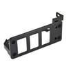 Late 80 Series Useless Ashtray Switchplate- Carling (UAS-1) with black oxide hardware