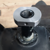 80 Series Floppy Mirror Fix (FMF-1)- Install ring on post so top face is flush to the top of post
