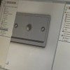 DashHole Plug- Mount, Notch-Free Face (DPM-1) Fits all 80s and 90s Toyota vehicles and Delta Console- CAD design