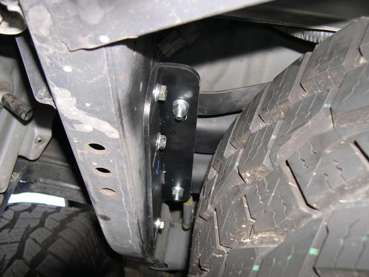 80 Series Tire Leveling Kit (TLK-1) Photo Courtesy Spartan