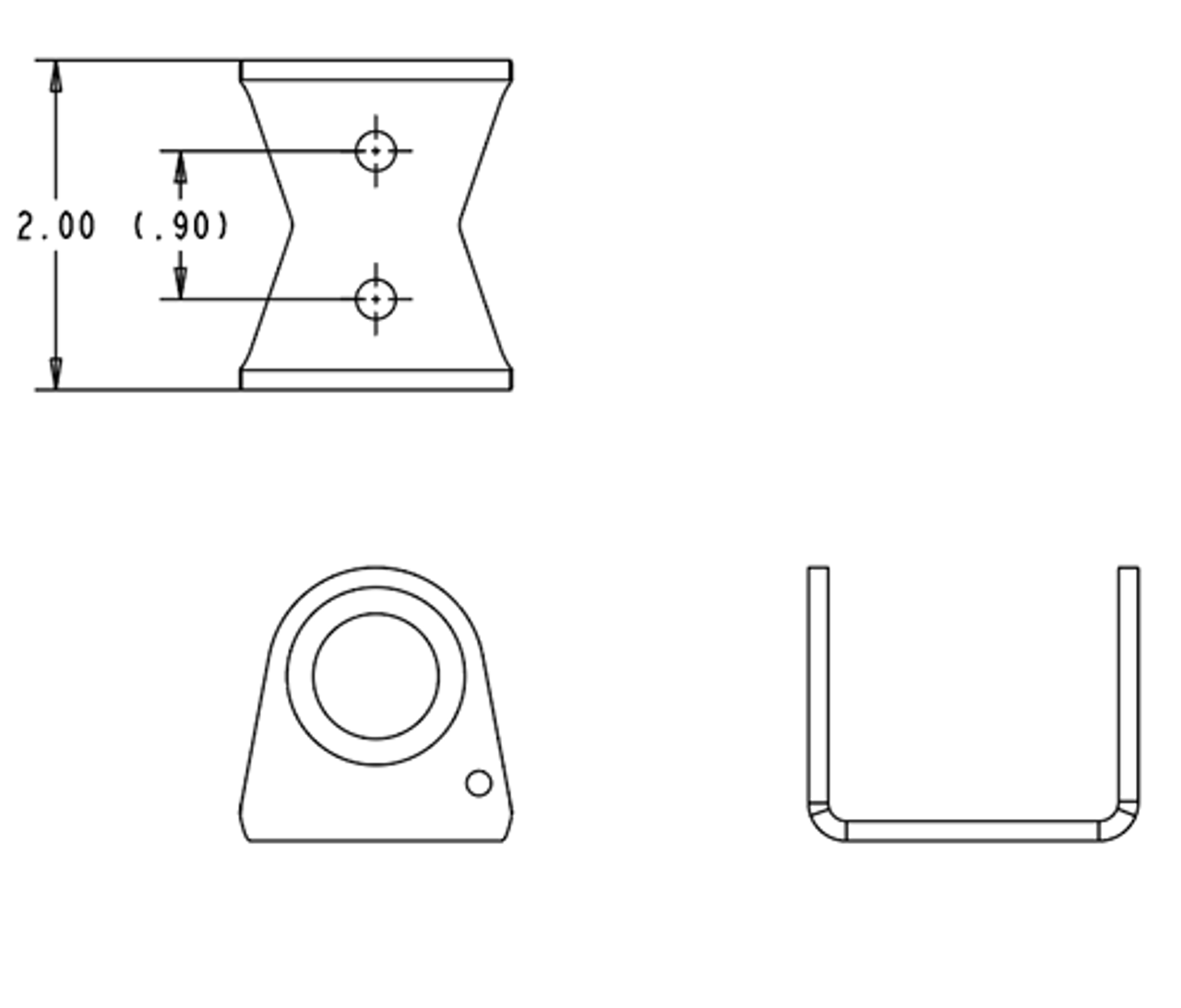 Air Coupler Bracket- guarded KIT (ACB-3KIT) for On Board Air