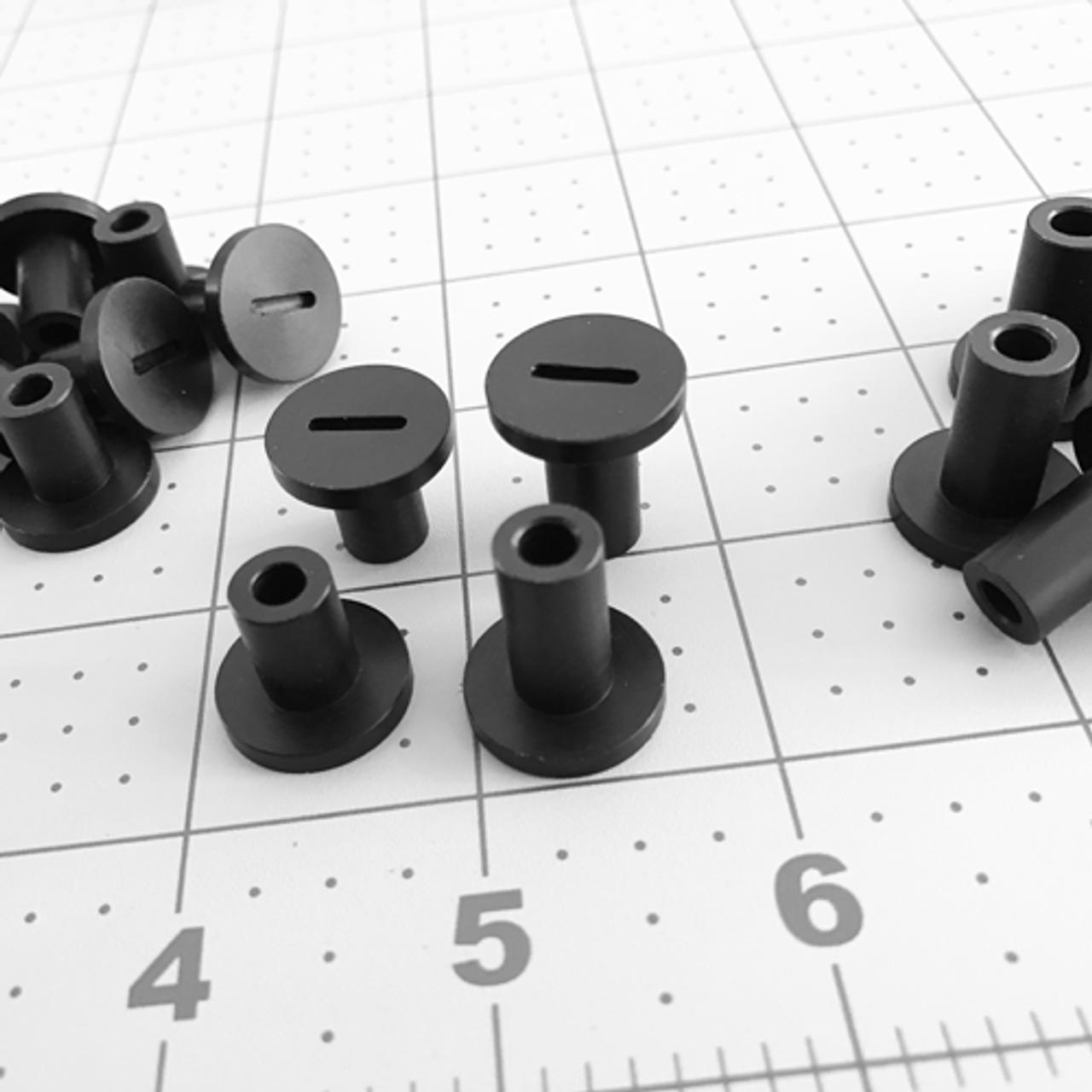 80 Series Plastic Step Nut- Black Standard (PSN-1)