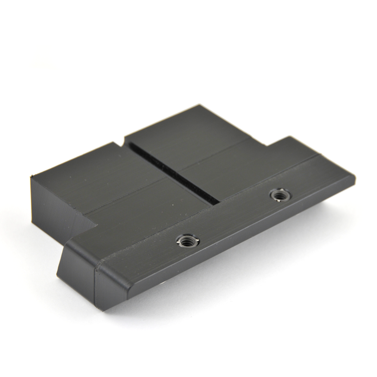 80 Series Useless Cubby Insert-base (UCI-1) shown with the Angle Insert mounted at 90deg