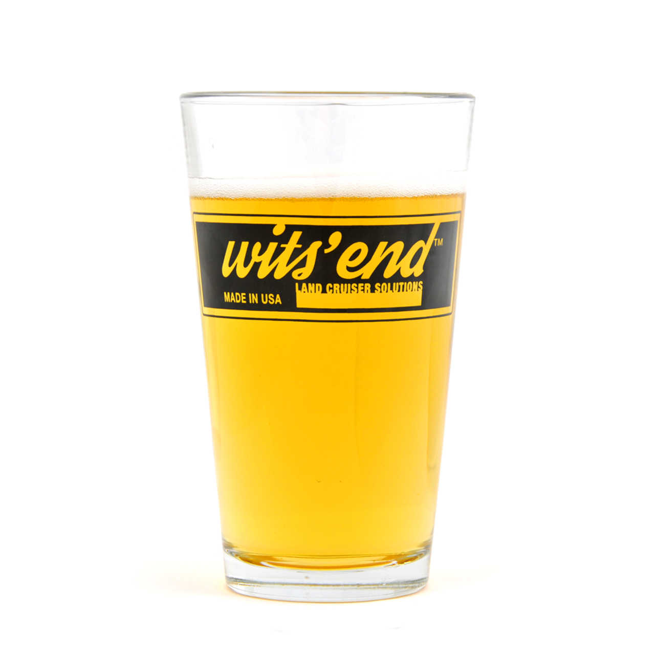 Wits' End Pint Glass (PNT-1)