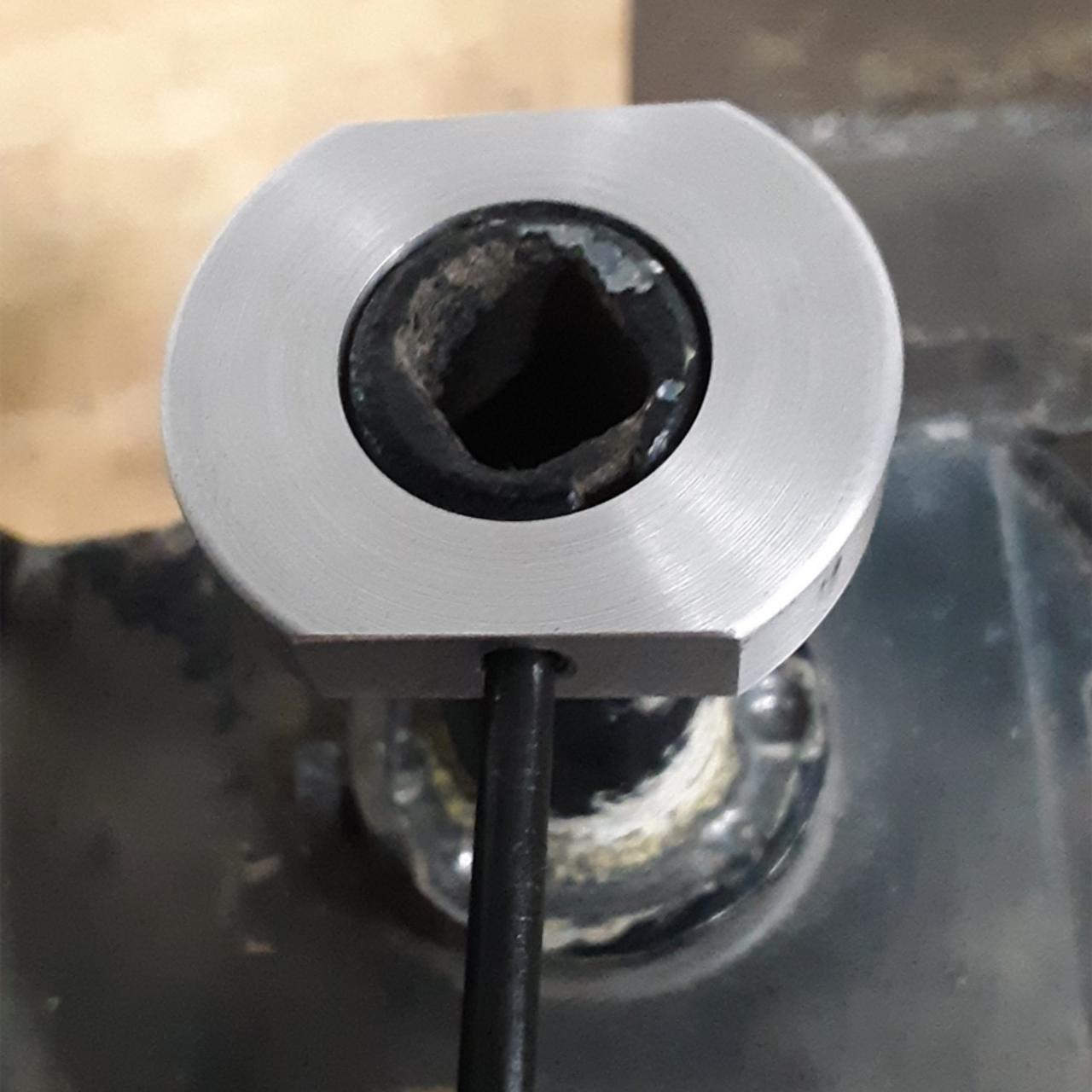 80 Series Floppy Mirror Fix (FMF-1)- Transfer punch for the first hole