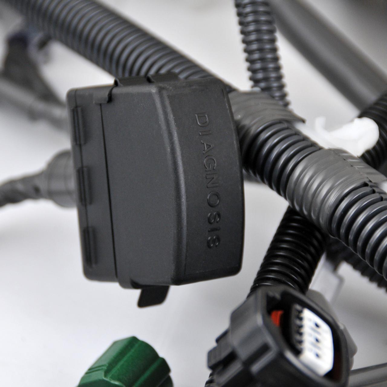 80 Series 1FZ Complete Engine Wire Harness (EWH-1) diagnostic port