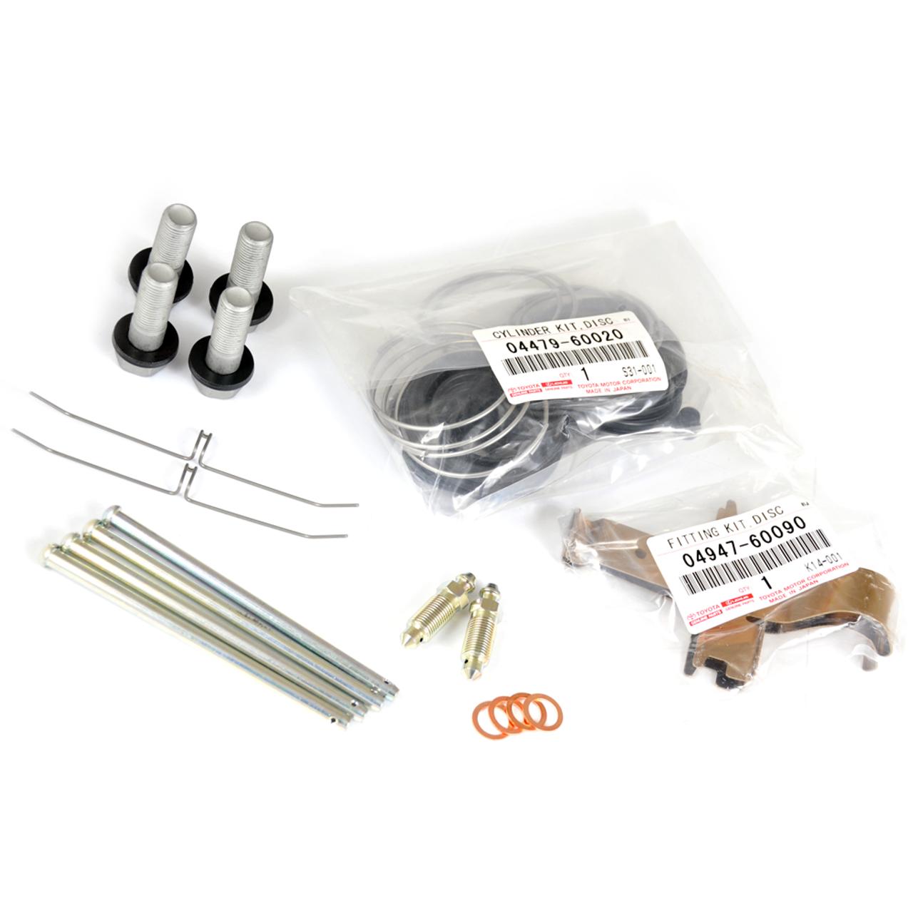 80 Series Land Cruiser Caliper Rebuild Kits- Front Set, 8/92-1/98 (CRK-1)