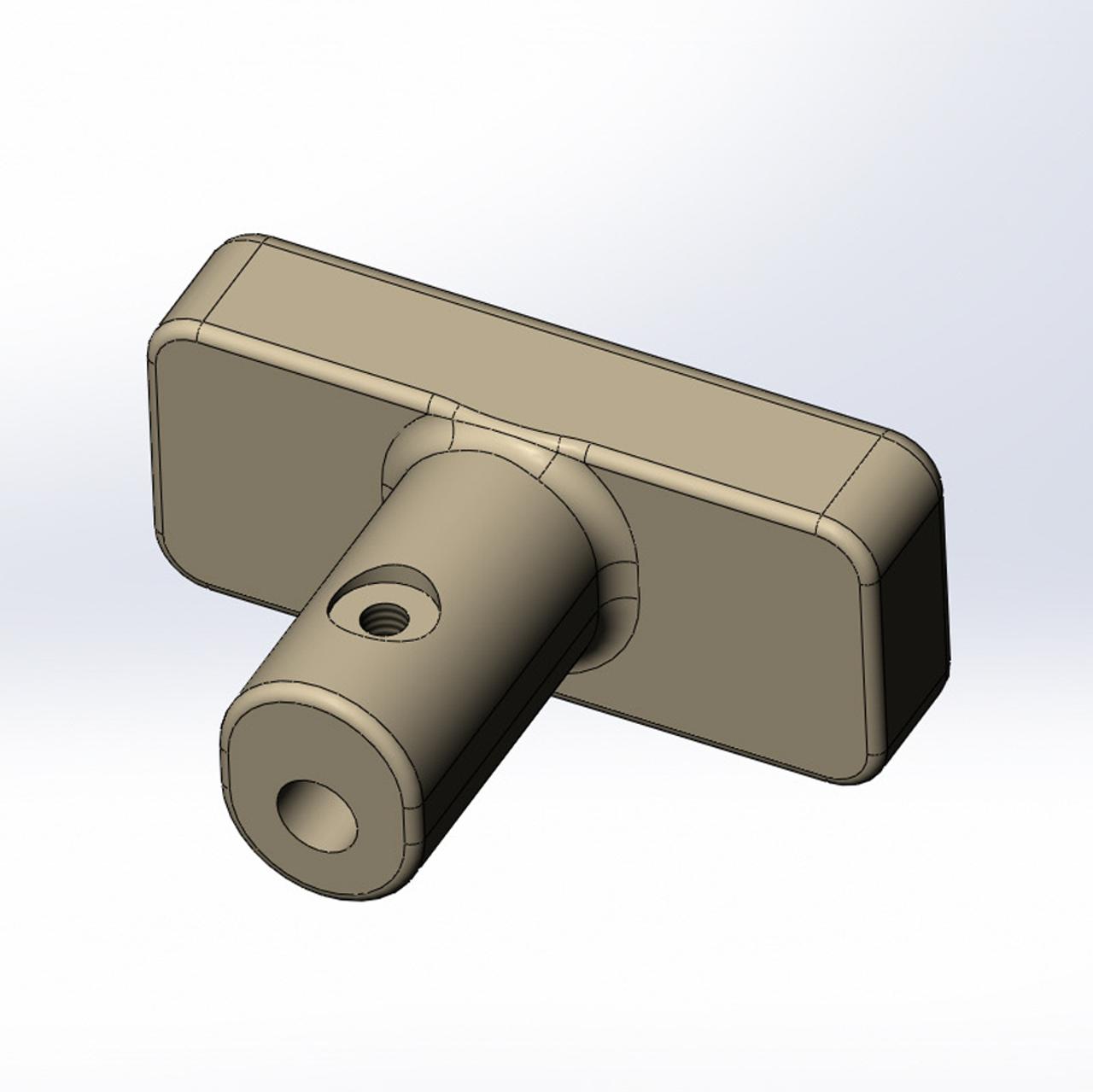 62 Series Fuel Door Release Handle (FDR-1) design stage