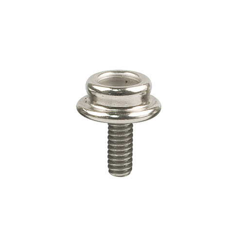"Snap Fastener Machine Screw, 3/8"" #8-32, Nickel Plated (4pk) (SMS-NP-1)"