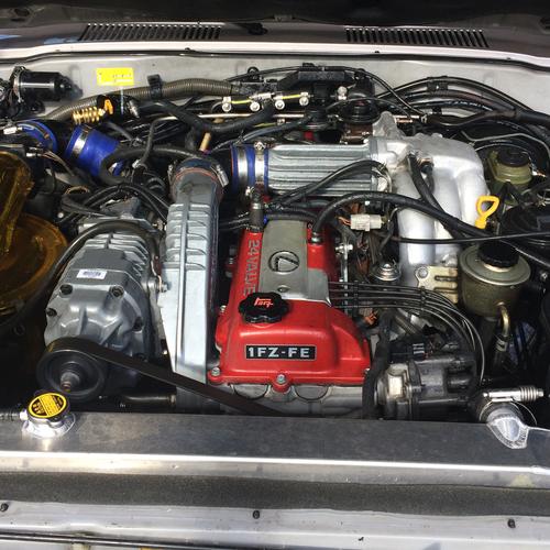 OEM 1FZ-FE Engine Name Plate (ENP-1)