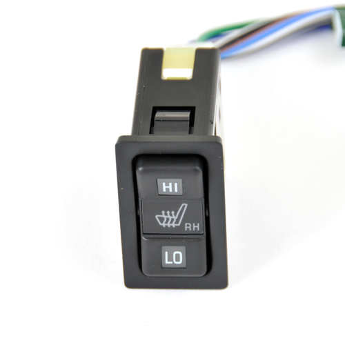 JDM Toyota Horizontal Seat Heater Switch- Black RH (SHS-1RH)