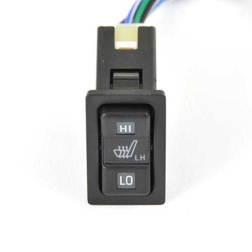 JDM Toyota Horizontal Seat Heater Switch- Black LH (SHS-1LH)
