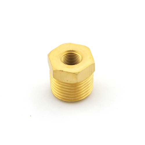 "5/8"" Male -to- 1/8"" Female NPT Reducer Bushing- Brass (RBB-34-18)"