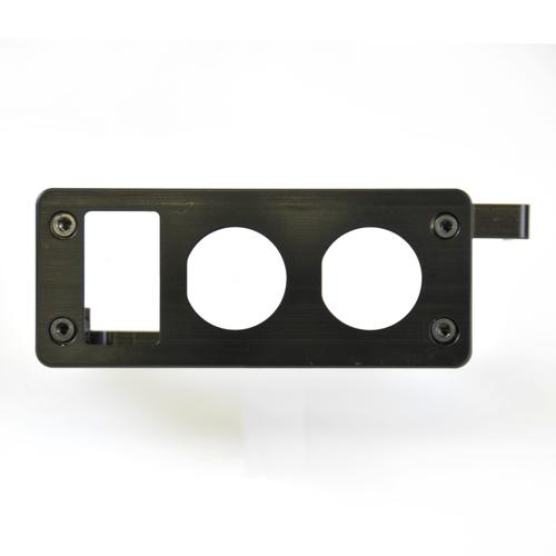 Late 80 Series Useless Ashtray Switchplate- Blue Sea Ports, Carling Switch (UAS-4)