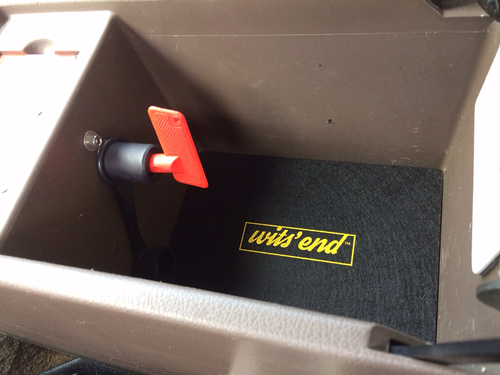LX450 Center Console Liner-Lower