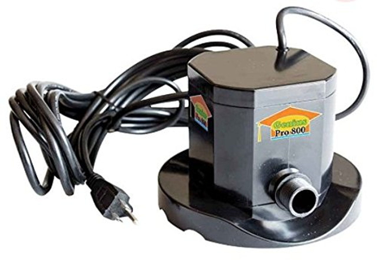 800 GPH Automatic Submersible Swimming Pool Cover Pump for Above and In  Ground Genius IQ Pumps Away