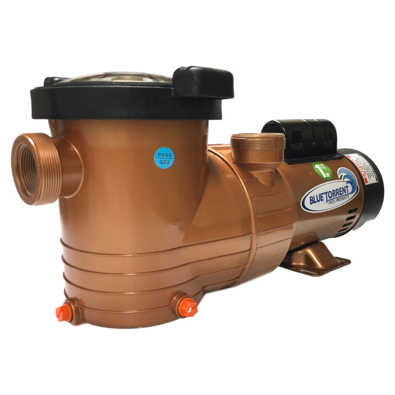 Copper Force Above Ground Swimming Pool Pump With 5 Year Warranty Available  in 1, 1.5 and 2 HP