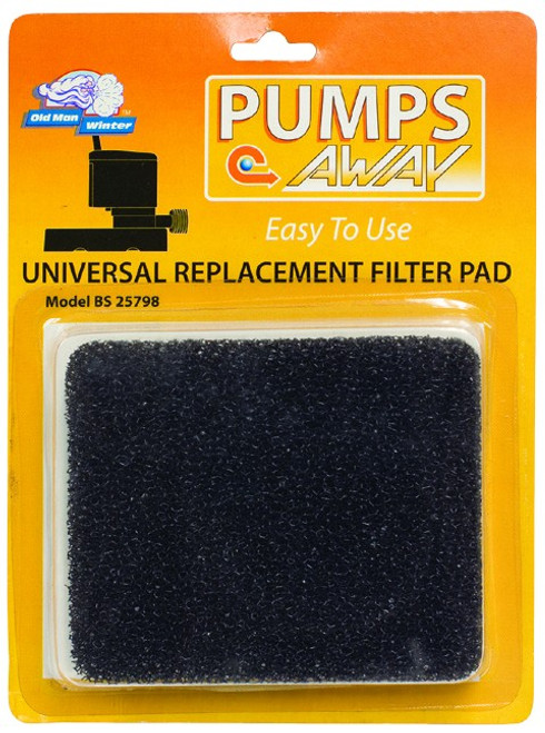 Universal Cover Pump Filter Pad
