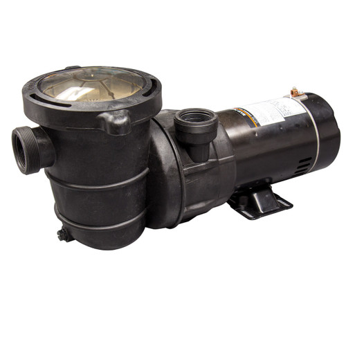 1 HP 2 Speed Dual Port Maxi Replacement Pump for Above Ground Pools With On/Off Switch