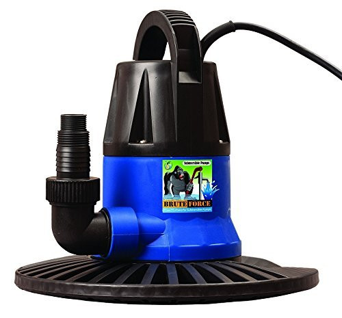 Brute Force 1250 GPH Submersible Swimming Pool Cover Pump
