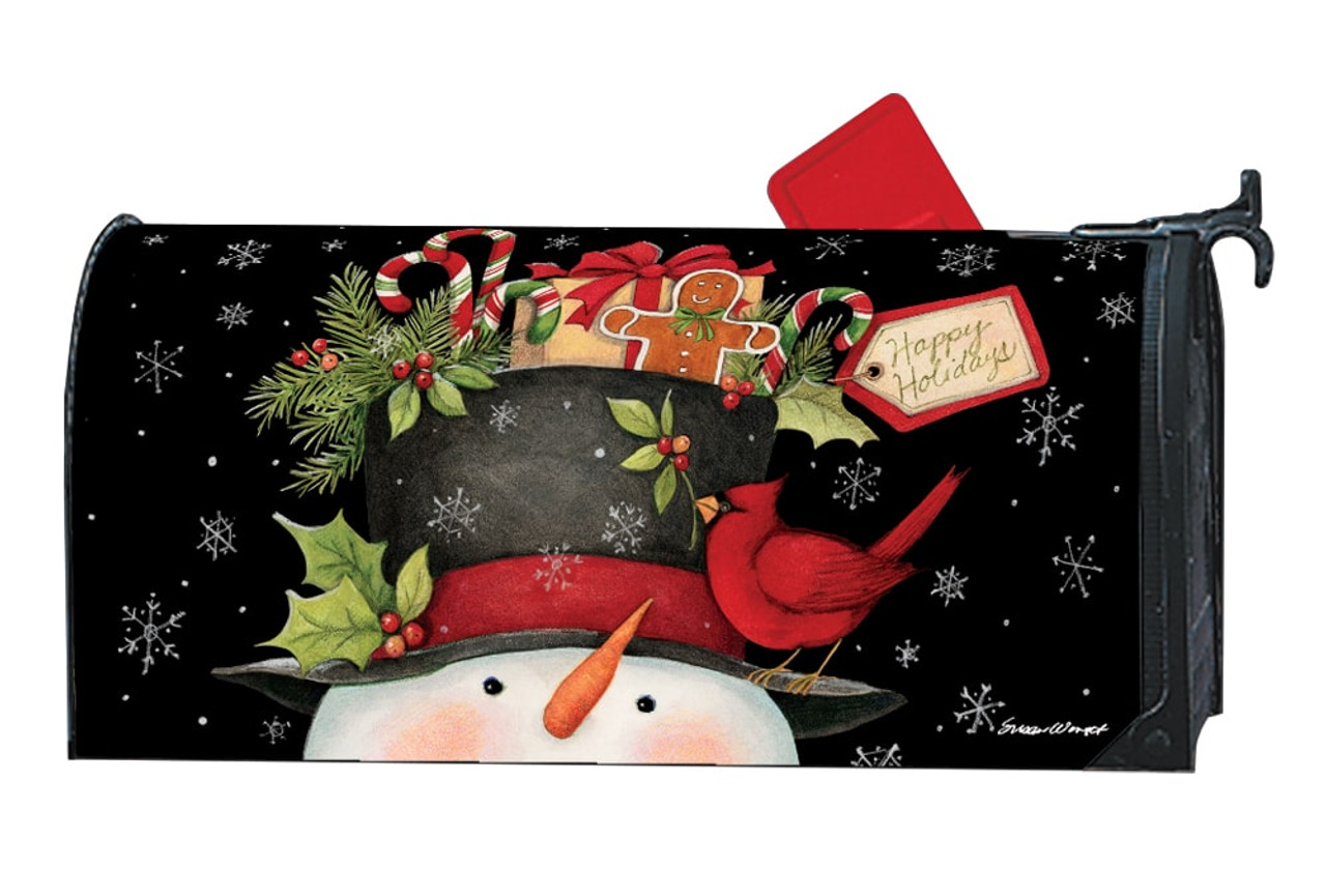 Christmas Mailbox Covers.Hatful Of Goodies Magnetic Mailbox Cover
