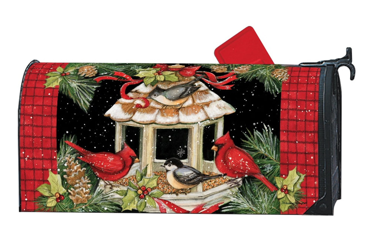 Christmas Mailbox.Christmas Dinner Magnetic Mailbox Cover